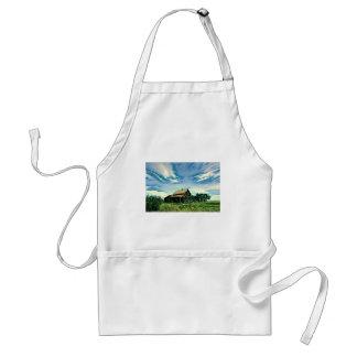 Canadian prairies homestead colour standard apron