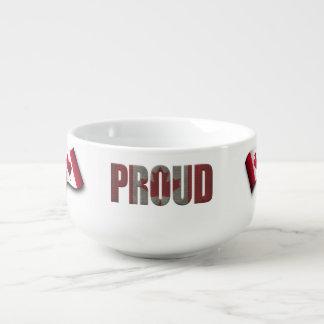 Canadian pride soup mug
