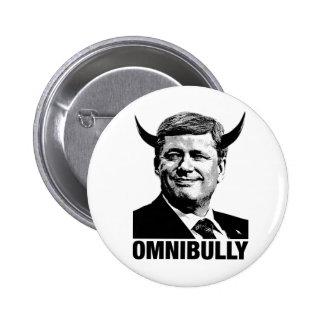 Canadian Prime Minister Stephen Harper - Omnibully Pinback Buttons
