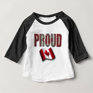 Canadian proud baby T-Shirt