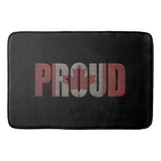 Canadian proud bath mat