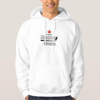 Canadian Proud Hockey Grandma Hoodies