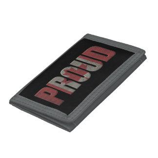 Canadian proud tri-fold wallet