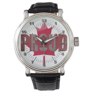 Canadian proud watch