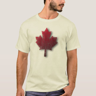 Canadian Red Maple Leaf Men's T T-Shirt