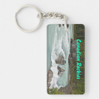 Canadian River Rectangular Key Chain