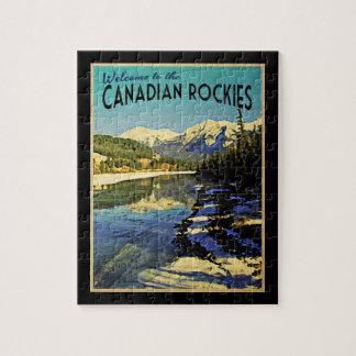 Canadian Rockies Puzzle