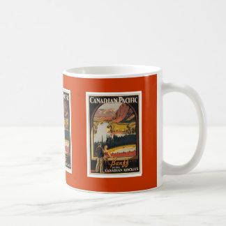 Canadian Rockies Travel Poster Mug