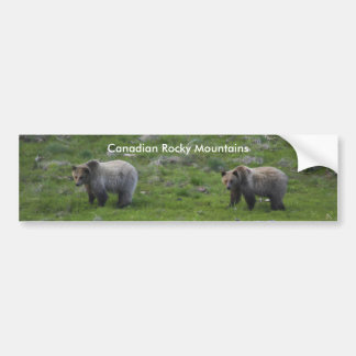 Canadian Rocky Mountains Bumper Sticker