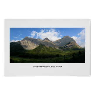 Canadian Rocky Mountains Poster