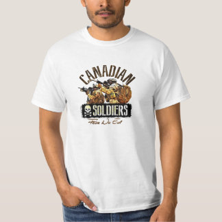 Canadian Soldiers Fear No Evil III T-Shirt