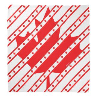 Canadian stripes flag bandana