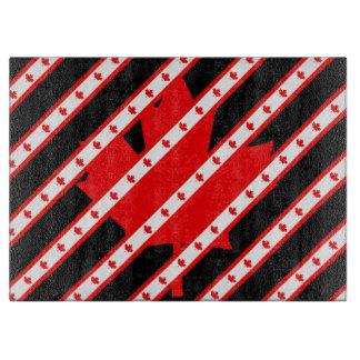 Canadian stripes flag boards