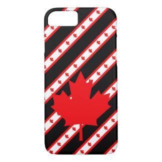 Canadian stripes flag Case-Mate iPhone case