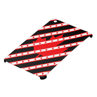 Canadian stripes flag iPad mini cover