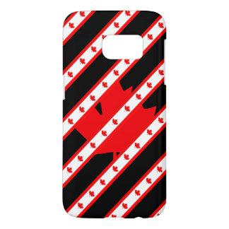 Canadian stripes flag samsung galaxy s7 case