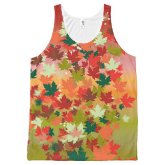 Canadian Sunset All-Over-Print Tank Top