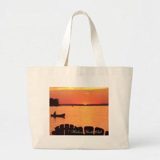 Canadian Sunset....Hudson Yacht Club Beach Bag