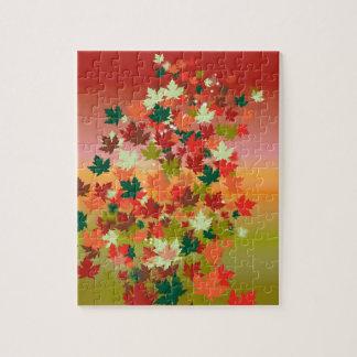 Canadian Sunset Jigsaw Puzzle