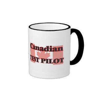 Canadian Test Pilot Ringer Coffee Mug
