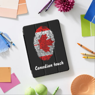 Canadian touch fingerprint flag iPad air cover