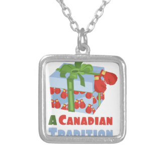 Canadian Tradition Silver Plated Necklace
