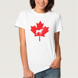 Canadian Unicorn Graphic T-shirt Canadian Unicorn