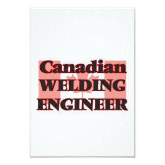 "Canadian Welding Engineer 3.5"" X 5"" Invitation Card"
