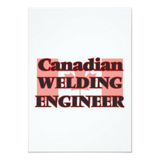 "Canadian Welding Engineer 5"" X 7"" Invitation Card"