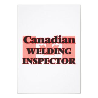 "Canadian Welding Inspector 5"" X 7"" Invitation Card"