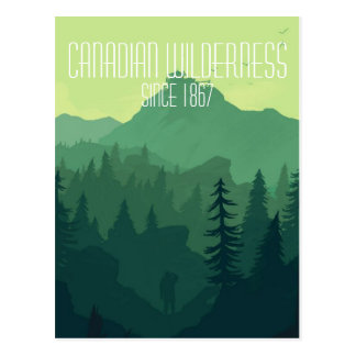 Canadian Wilderness Postcard