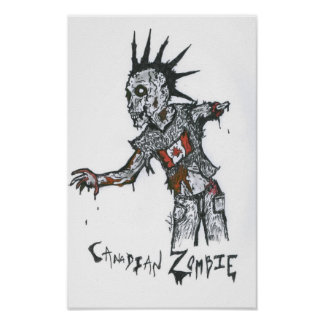 Canadian Zombie Poster