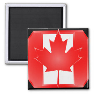 Canadiand Flag Shield magnet