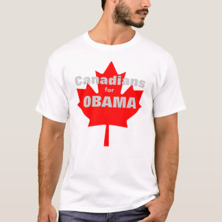 Canadians for Obama T-Shirt