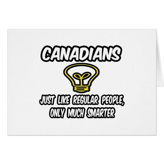 Canadians...Smarter Card