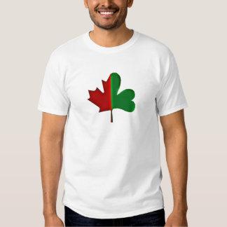 Canadien irlandais tshirts