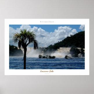 Canaima Falls Poster