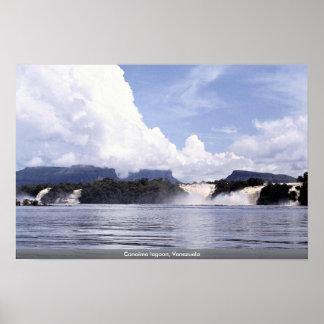 Canaima lagoon, Venezuela Poster