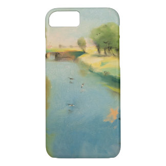Canal, 1897 (pastel on canvas) iPhone 7 case