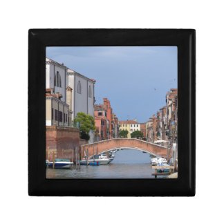 Canal at Venice in Italy Gift Box