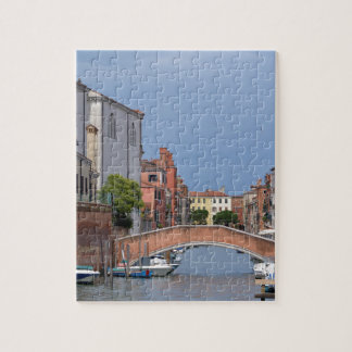 Canal at Venice in Italy Jigsaw Puzzle
