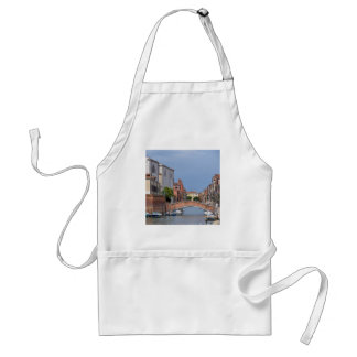 Canal at Venice in Italy Standard Apron