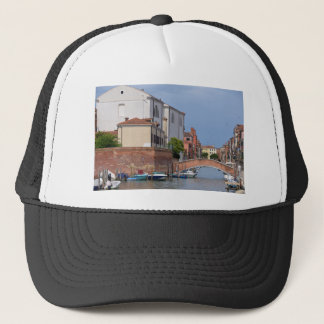 Canal at Venice in Italy Trucker Hat