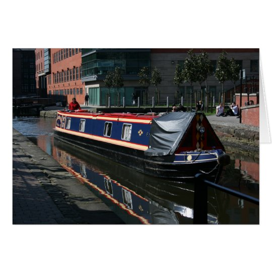 canal boat card