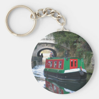 Canal boat Key ring