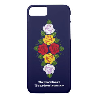 Canal boat roses iPhone 7 case