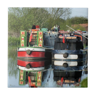 CANAL BOATS TILES