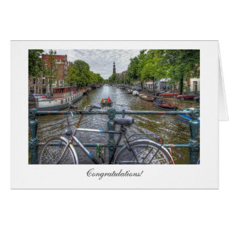Canal Bridge View - General Congratulations Card