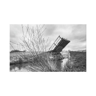 """Canal Bridge"" wall art"
