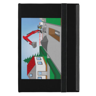 Canal construction place cases for iPad mini